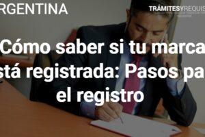 Cómo saber si tu marca está registrada: Pasos para el registro
