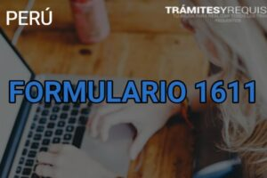 Formulario 161: Pagos SUNAT