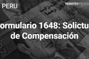 Formulario 1648: Solicitud de Compensación