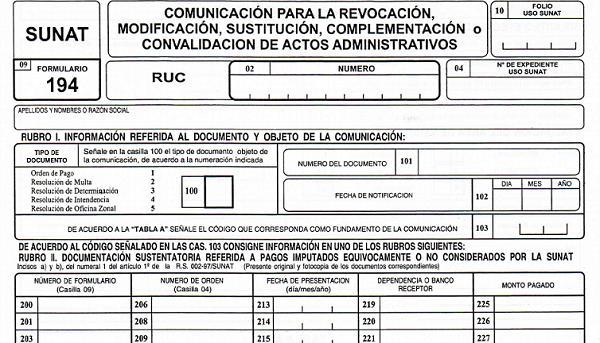 Form 194