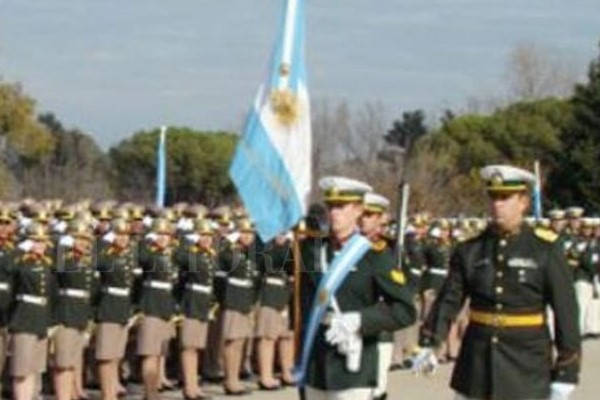 Requirements for the Gendarmerie parade with flag