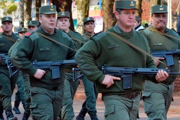 Requirements for Gendarmerie officers with guns