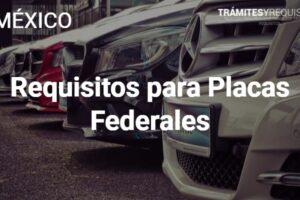 Requisitos para Placas Federales: Transporte Federal