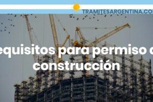 Requisitos para permiso de construcción: Documentación necesaria