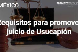 Requisitos para promover juicio de Usucapión: Pasos a seguir