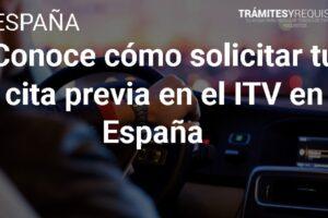 Conoce cómo solicitar tu cita previa en el ITV en España