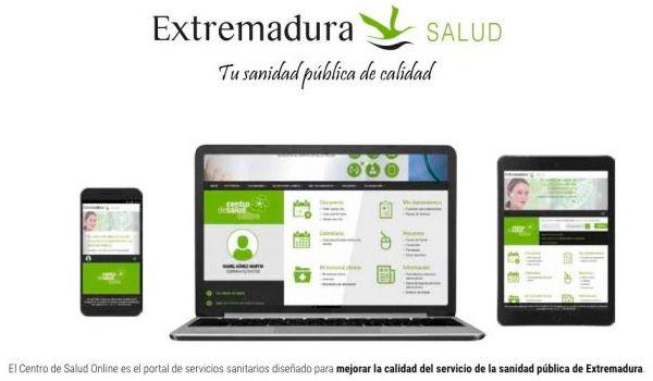 health service benefits of Extremadura