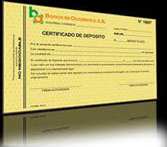 certificate of deposit 1