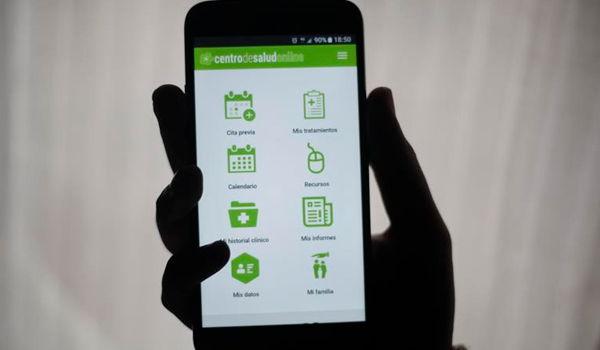 medical consultation via cell phone