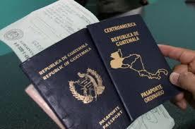 Guatemalan passport and documents