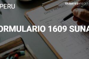 Formulario 1609: Guía para realizar suspensiones de 4ta. Categoría