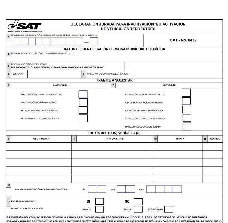 form 452