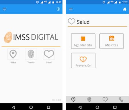 digital application imss