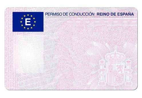 Spain driver's license