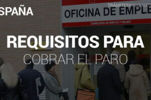 Pasos y Requisitos para cobrar el Paro