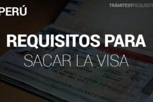 Trámites y Requisitos para Visa USA