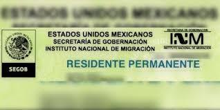 residente permante mexicano