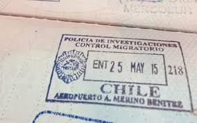 Chilean stamp