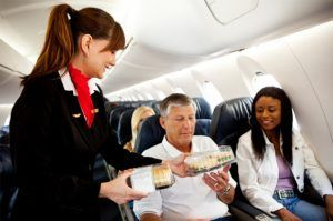 work as a stewardess