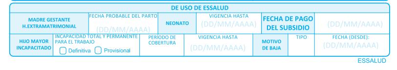 use of essalud