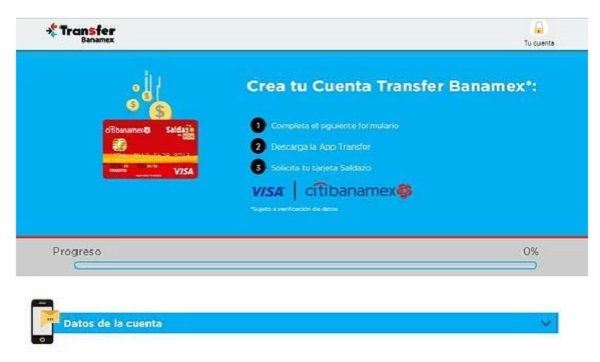 How can I activate my Saldazo Citibanamex card?