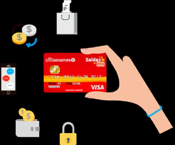 How does the Saldazo OXXO card work?