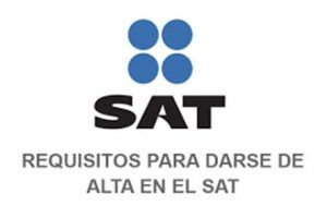 Requirements for registering with the SAT